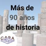 Más de 90 años respaldan Casa Tellería